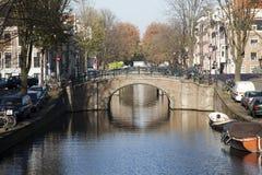 Most w Amsterdam Fotografia Stock