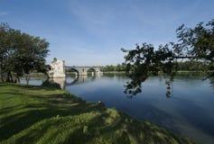 Most w Avignon Zdjęcie Stock