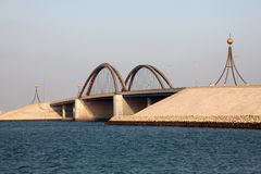 Most w Bahrajn fotografia stock