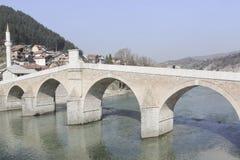 Most w Bośnia, Herzegovina - Obraz Royalty Free