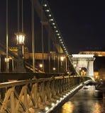 Most w Budapest Obraz Stock