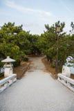 Most w drewna Zdjęcia Royalty Free