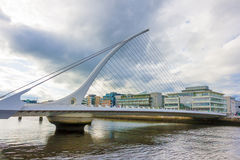 Most w Dublin Fotografia Stock