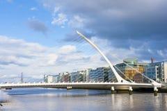 Most w Dublin Zdjęcia Royalty Free
