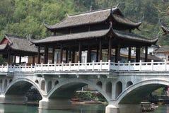 Porcelanowa turystyka w Fenghuang okręg administracyjny Zdjęcia Stock