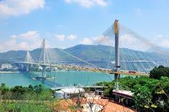Most w Hong Kong zdjęcie royalty free