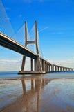 most w Lisbon fotografia stock