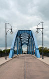 Most w Magdeburskim fotografia royalty free
