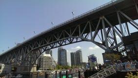 Most w mieście Zdjęcie Stock
