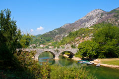 Most w Montenegro Zdjęcie Royalty Free