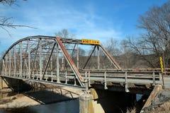 Most w Ozark górach, Missouri obraz royalty free
