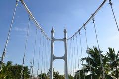 Most w parku obraz royalty free