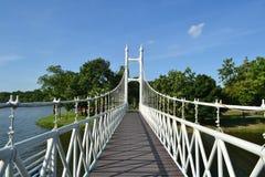 Most w parku Obrazy Royalty Free