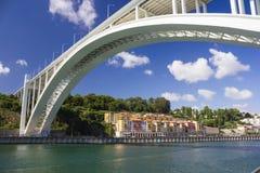 Most w Porto Zdjęcia Royalty Free