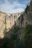 Most w Ronda głowie dalej Fotografia Stock