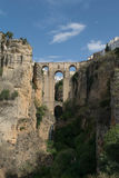 Most w Ronda głowie dalej Obrazy Stock