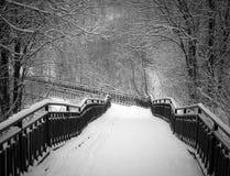 Most w starym miasto parku Fotografia Royalty Free
