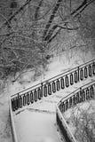 Most w starym miasto parku Fotografia Stock