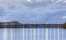 Most w Waszyngtońskim d C Zdjęcie Stock