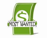 Most wanted. Thing in the world Stock Image