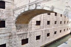 Most westchnienia w Włochy Wenecja Zdjęcia Royalty Free