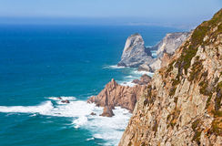 The most Western point of Europe, Cabo da Roca, Portugal Royalty Free Stock Image