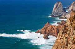 The most Western point of Europe, Cabo da Roca, Portugal Stock Photography