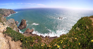 The most western point of Europe, Cabo da Roca, Portugal Stock Image