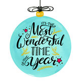 The most wonderful time of the year Stock Image