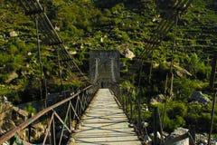 Most z górą zdjęcia royalty free