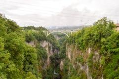 Most z łukiem Zdjęcie Royalty Free