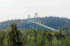most zawieszający Fotografia Stock