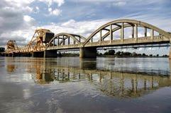 most zwodzony odbicia Obraz Royalty Free