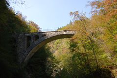 mosta łękowaty kamień Zdjęcie Royalty Free