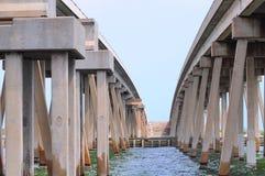 mosta bliźniak Fotografia Royalty Free