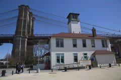 Mosta Brooklyńskiego park Zdjęcie Royalty Free