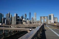 Mosta Brooklyńskiego Nowy Jork Manhattan hudson Fotografia Stock