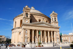 Mosta Dome Royalty Free Stock Photo