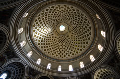 Mosta Dome Cathedral - Malta Stock Photography
