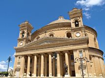 Mosta Dome Cathedral, Malta, Europe Stock Image