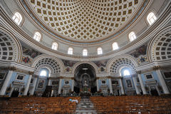 Mosta Dome Royalty Free Stock Photography