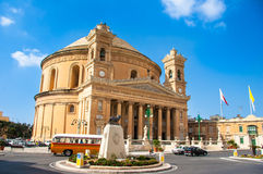 Mosta Dome Stock Photography