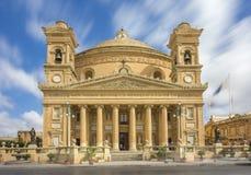 Mosta, Malta - a abóbada de Mosta na luz do dia Fotos de Stock Royalty Free