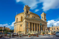 Mosta, Malta - la bóveda de Mosta en la luz del día Fotografía de archivo