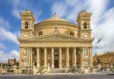 Mosta, Malta - la bóveda de Mosta en la luz del día Fotos de archivo libres de regalías