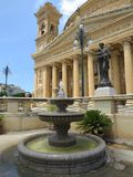 Mosta Rotunda. The Mosta Rotunda (also known as the church of St. Mary) is located in the town of Mosta in Malta Royalty Free Stock Photography