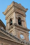 Mosta rotunda church. Malta. MOSTA, MALTA - AUGUST 21, 2017: The dome of the Rotunda of Mosta Church of the Assumption of Our Lady is the third largest Royalty Free Stock Photo