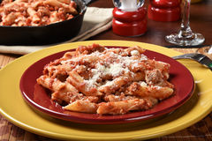 Mostaccioli bake Royalty Free Stock Images