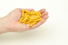 Mostaccioli Pasta Royalty Free Stock Photos