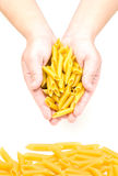 Mostaccioli Pasta Stock Photography